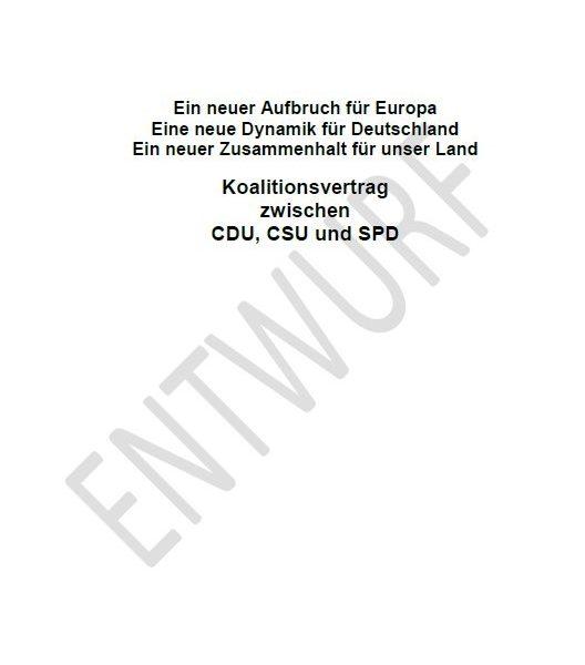 Riester Im Koalitionsvertrag 2018