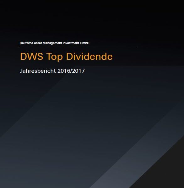 DWS Top Dividende Nicht Mehr Empfohlen