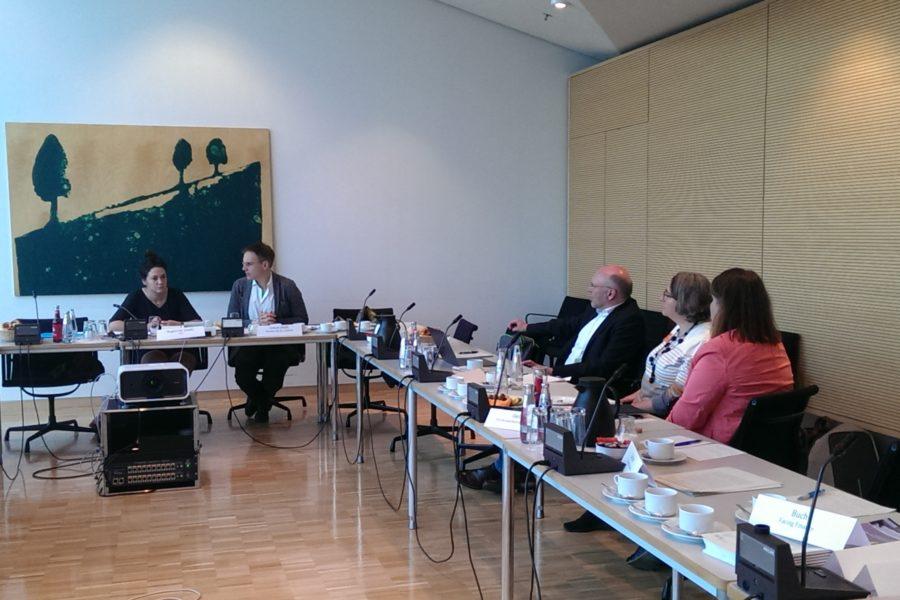 Parlamentarisches Frühstück Im Deutschen Bundestag