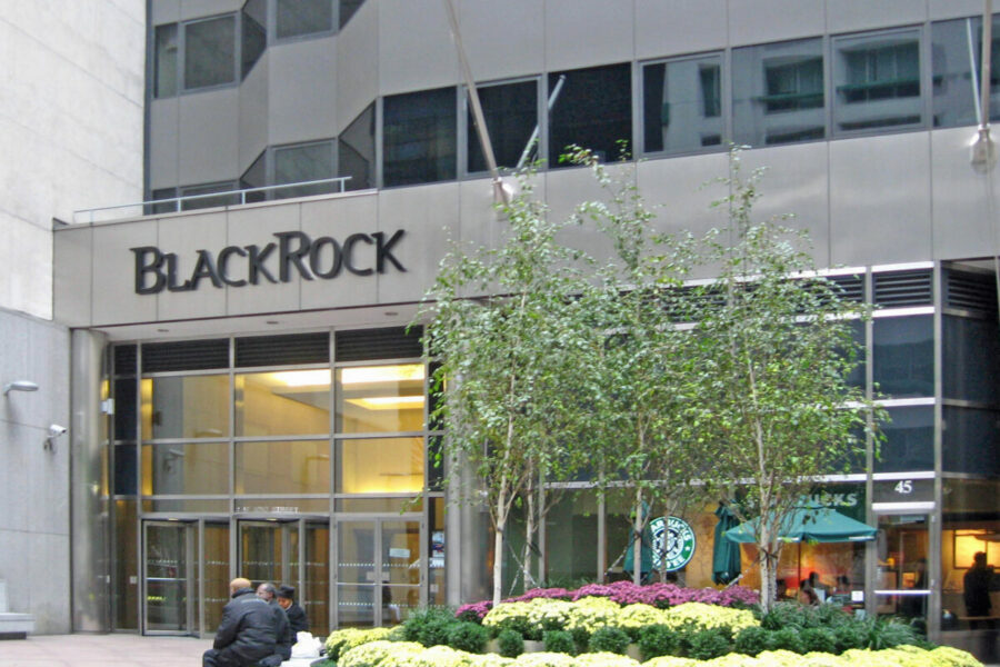 BlackRock Goes Green?